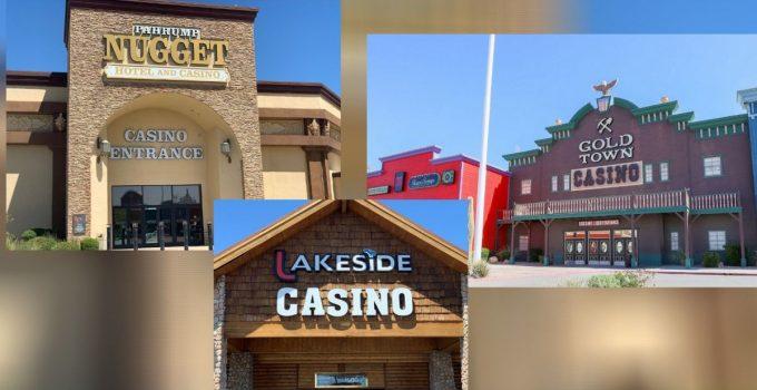 Pahrump Nugget, Gold Town Casino, dan Lakeside Casino akan dibuka kembali 4 Juni