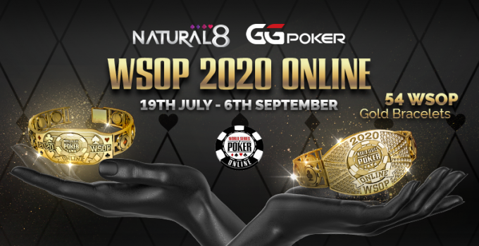 Cara Bermain: Acara Gelang WSOP Online di Natural8