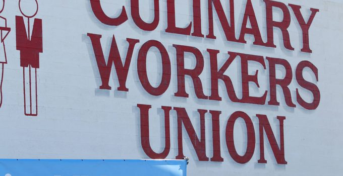 Culinary Workers Union Local 226 headquarters in Las Vegas, Saturday, Oct. 20, 2018. (Erik Verd ...