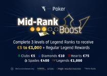 Hasilkan Antara € 5 dan € 1.000 Semua Minggu Ini di Run It Once Poker