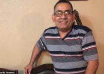 Adolfo Fernandez, 51, meninggal pada hari Rabu di Rumah Sakit Sunrise di Las Vegas - hanya dua hari setelah ia didiagnosis menderita COVID-19
