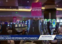 Rivers Casino akan dibuka kembali Selasa, topeng akan diperlukan