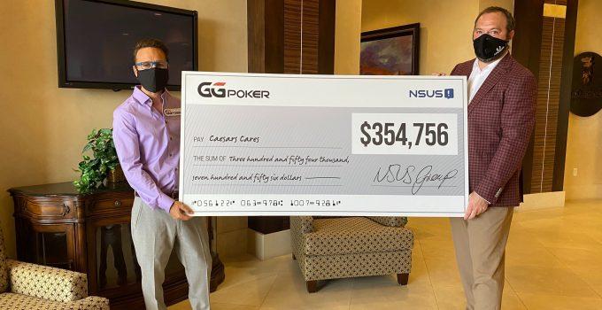 GGPoker Donasi Lebih dari $ 350.000 Setelah Acara Amal Online BESAR WSOP
