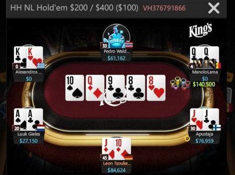 Gila Insane di GGPoker High-Stakes Cash Game