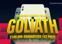 Inilah Cara Bermain di £ 100K Gtd Goliath Untuk £ 0,25