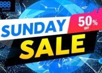 Lihatlah Mayor Minggu Berharga Setengah ini dalam Penjualan Minggu di 888poker