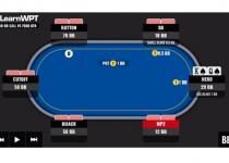 WPT GTO Trainer Tangan Minggu Ini: Final Table Play di Big Blind Vs The Chip Leader