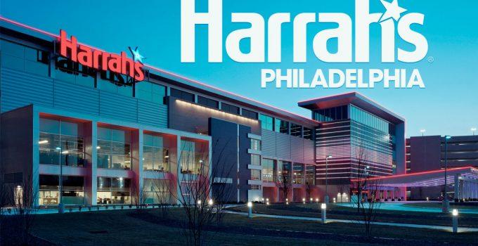 Logo dan Eksterior Harrah's Philadelphia Casino