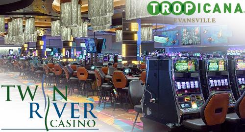 Twin River membeli kasino Tropicana Evansville dari Caesars dengan harga $ nol dimuka