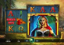 Mainkan Wicked Tales: Dark Red - a Dark Red Riding Hood Slot