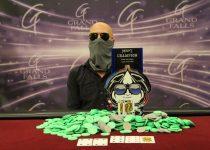 Mark Collins Memenangkan Gelar MSPT Kedua di Grand Falls Casino ($ 107.706)