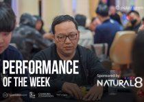 Natural8 2020 WSOP Kinerja Online Minggu Ini: Feng Mengubah $ 50 Menjadi $ 211K