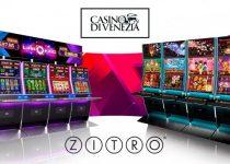 Zitro memasang slot video baru di Casino Di Venezia di Italia