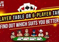Meja 2 Pemain atau Meja 6 Pemain? Cari Tahu Mana Yang Lebih Cocok Untuk Anda